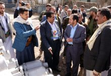 Photo of وزير النفط ونائب وزير الصناعة يدشنان أعمال صيانة أسطوانات الغاز المنزلي